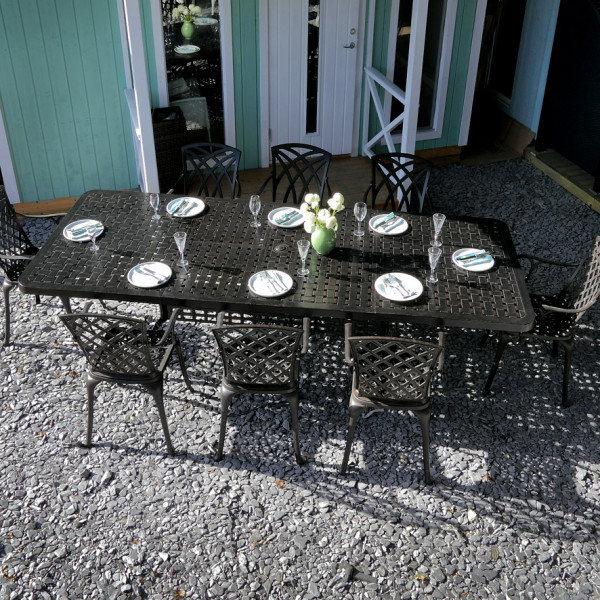 Isabelle 12 seater garden extension table