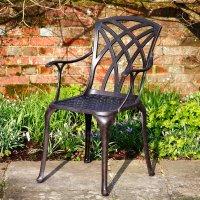APRIL chaise de jardin en aluminium