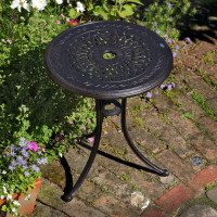ELLA Table bistrot - Bronze Ancien