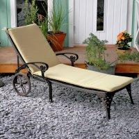 Coussin de chaise longue AMBER - Sable