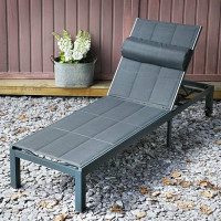 Chaise longue MICHELLE - Gris
