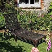 Chaise Longue Stella - Bronze Ancien