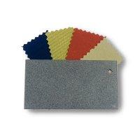 Échantillons de tissu et métal - Gris Ardoise - Gamme classique