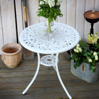 TULIP Table bistrot - Blanc