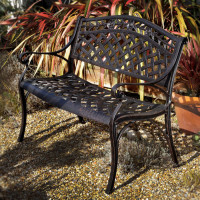 Banc ROSE - Bronze Ancien