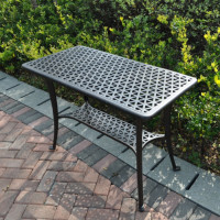 Table BBQ - Bronze Ancien