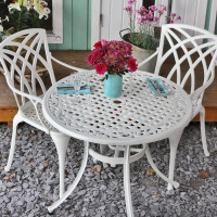 Table HANNAH - Blanc