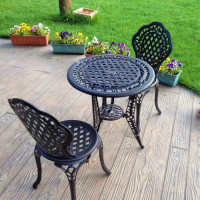 Ivy Bistro Set - Antique Bronze (2 seater set)