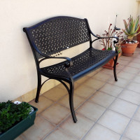 Banc JULY - Bronze Ancien