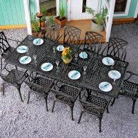 Table VANESSA - Bronze Ancien (10 personnes)