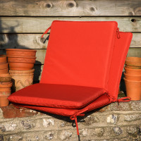 Coussin complet terracotta