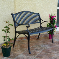 Banc GRACE - Bronze Ancien