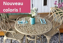Table Jill coloris sable