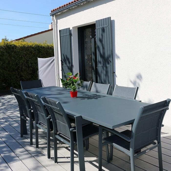 Table de jardin de qualité | Mobilier de jardin | Chaise de jardin ...